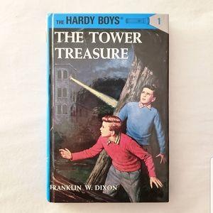 Vintage hardy boys book